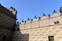 Señales en el castillo de Praga complejo, República Checa El castillo de Praga es la atracción visitada de la ciudad Fotografía de archivo libre de regalías