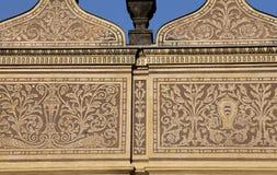 Señales en el castillo de Praga complejo, República Checa El castillo de Praga es la atracción visitada de la ciudad Fotografía de archivo