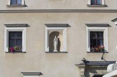 Señales históricas, sitios, estatuas en Europa Oriental fotografía de archivo libre de regalías