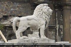 Señales históricas, sitios, estatuas en Europa Oriental foto de archivo libre de regalías