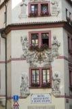 Señales históricas, sitios, estatuas en Europa Oriental fotos de archivo