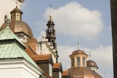 Señales históricas, sitios, estatuas en Europa Oriental fotografía de archivo
