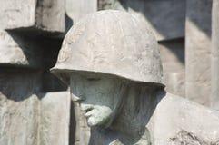 Señales históricas, sitios, estatuas en Europa Oriental fotos de archivo libres de regalías