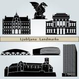 Señales y monumentos de Ljubljana