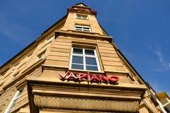 Señalización del restaurante de Vapiano imagen de archivo libre de regalías