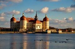 Señorío famoso Moritzburg de la caza Imagen de archivo libre de regalías