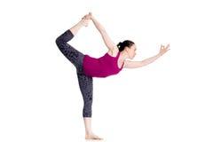 Señor de la actitud de la yoga de la danza Imagen de archivo