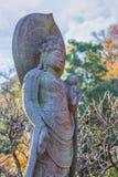 Señor de la compasión en el templo de Haseder en Kamakura imágenes de archivo libres de regalías