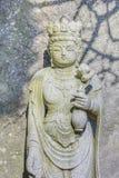 Señor de la compasión en el templo de Haseder en Kamakura fotos de archivo