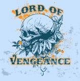 Señor de la venganza   stock de ilustración