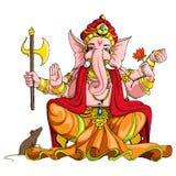 Señor Ganesha stock de ilustración