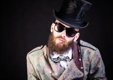 Señor Hipster imagen de archivo