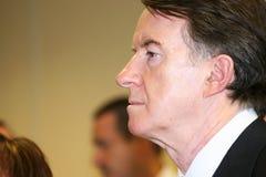Señor Peter Mandelson. Fotos de archivo
