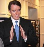 Señor Peter Mandelson Fotografía de archivo