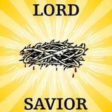 Señor Savior Thorn Crown Foto de archivo