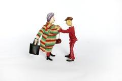 Señora Imagen de archivo libre de regalías