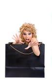 Señora agradable Foto de archivo libre de regalías