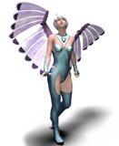 Señora Angel Imagen de archivo