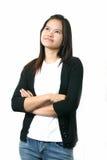 Señora asiática 2 fotos de archivo libres de regalías