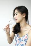 Señora asiática joven Fotografía de archivo libre de regalías