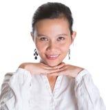 Señora asiática Professional Portrait V Fotografía de archivo