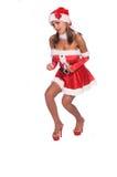 Señora atractiva Claus foto de archivo libre de regalías