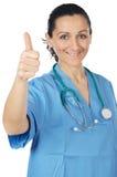 Señora atractiva doctor Fotografía de archivo