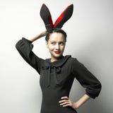 Señora atractiva joven imágenes de archivo libres de regalías