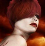 Señora atractiva Portrait Imagen de archivo libre de regalías