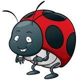 Señora Bug ilustración del vector