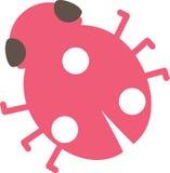 Señora Bug Vector ilustración del vector