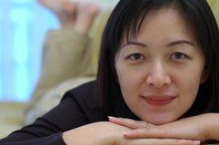 Señora china Imagen de archivo libre de regalías