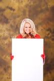Señora Claus List Foto de archivo libre de regalías