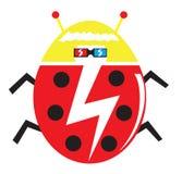 Señora cobarde Bug libre illustration
