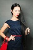 señora con el pelo sano largo Foto de archivo libre de regalías