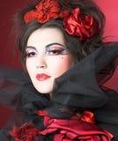 Señora creativa. Imagen de archivo libre de regalías