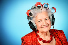 Señora de la diversión fotografía de archivo libre de regalías