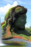 SEÑORA de la escultura Imagen de archivo libre de regalías