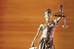 Señora de la justicia Fotografía de archivo