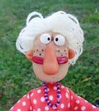Señora de la marioneta Imagenes de archivo