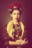 Señora de Latina Foto de archivo libre de regalías