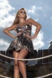 Señora de moda Fotos de archivo libres de regalías