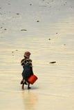 Señora del suajili, isla de Zanzibar Fotos de archivo libres de regalías