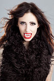 Señora del vampiro imágenes de archivo libres de regalías