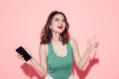 Señora del verano Muchacha asiática hermosa con maquillaje y s profesionales Imágenes de archivo libres de regalías
