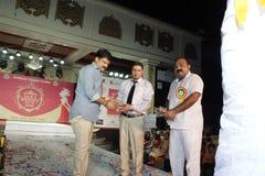 señora Demostración de Bhiwadi NCR Faishon - Raman Yadav Foto de archivo libre de regalías