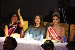 señora Desfile de moda de Bhiwadi NCR - Raman Yadav Films Fotografía de archivo libre de regalías