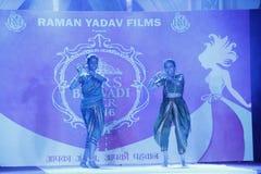 señora Desfile de moda de Bhiwadi NCR - Raman Yadav Films Fotos de archivo