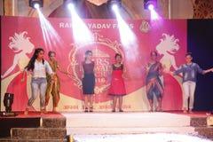 señora Desfile de moda de Bhiwadi NCR - Raman Yadav Films Fotos de archivo libres de regalías