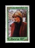 Señora Diana, princesa Of Wales, circa 1982, Fotografía de archivo libre de regalías
